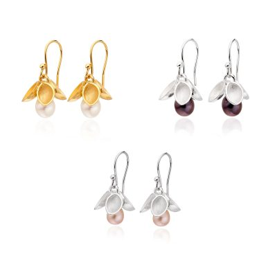 Drop Freshwater Pearl Earrings E37 E38 E40
