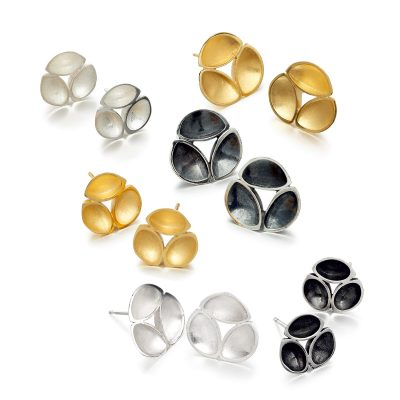 Oyster Stud Earrings E07 E08 E09