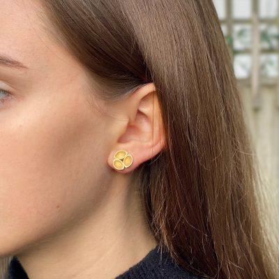 Oyster Stud Earrings