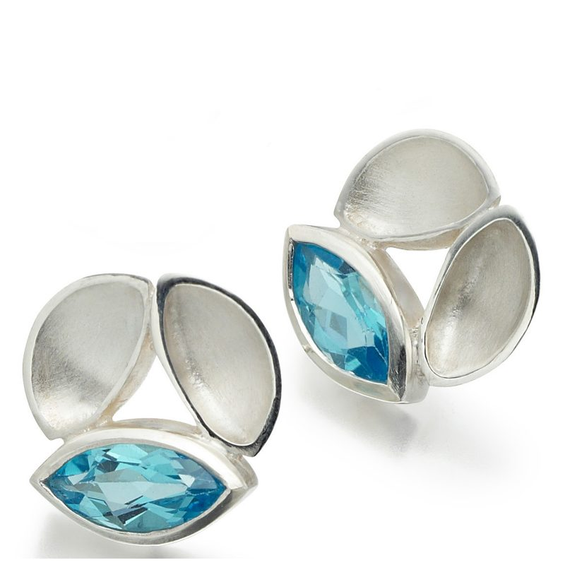 Oyster Marquise Earrings