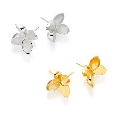 Star Leaf Earrings