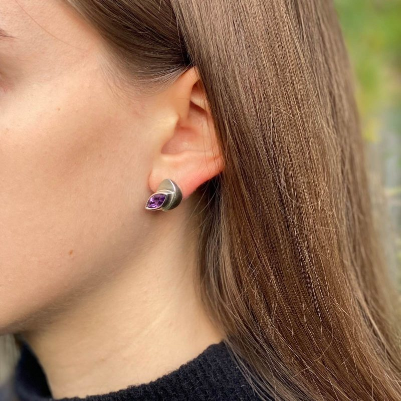 Leaf Marquise Earrings