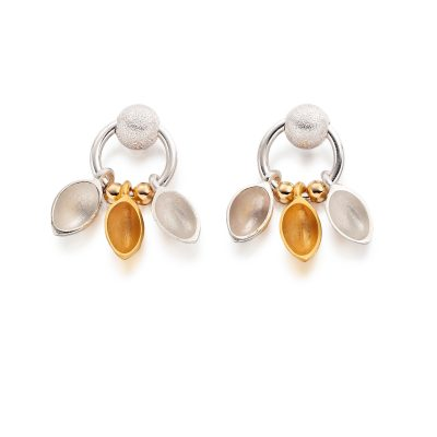 Oyster Hanging Earrings