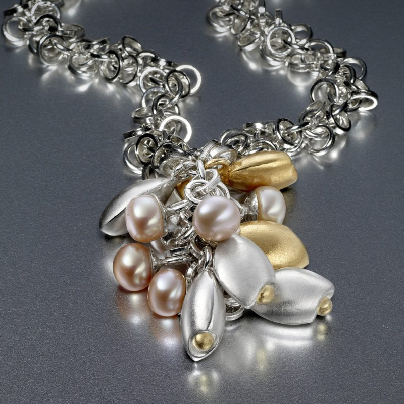 Cluster Pebble Necklace