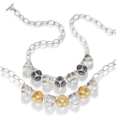 Oyster Link Necklace N09 N10