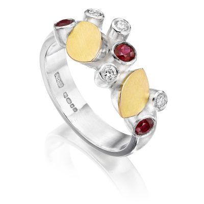 Ruby and Diamond Ring R01