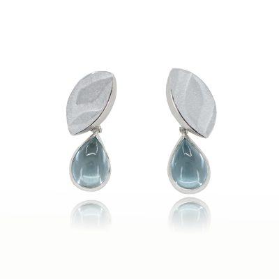 Topaz teardrop earrings