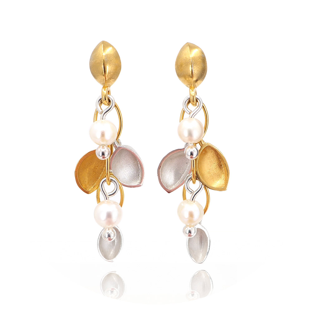 The gold and silver earrings; Maggie LOVES THEM!!!